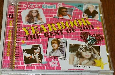 Total Girl Yearbook The Best Of 2011 2 Disc Set (Cd & Dvd) Brand New