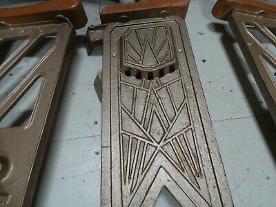 Vintage 1930s Art Deco Cinema Theatre Seats - Need Re-Assembly