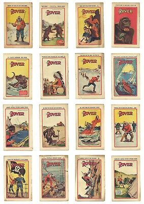 Rover Comic 1935 Boys Paper Lot of 34 issues
