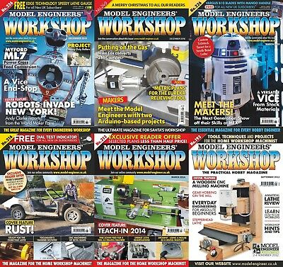 Model Engineers Workshop Magazine - Archive Collection - *194* Issues  (2 DVD's)