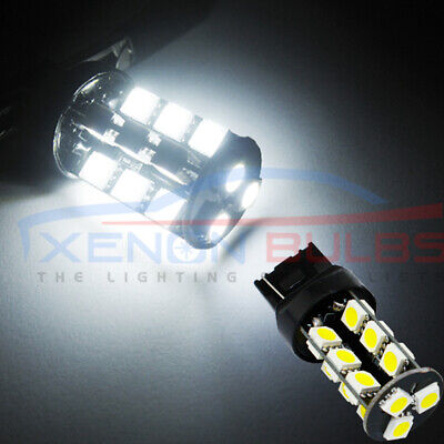 2x T20 LED 5050 SMD SIDE LIGHT BRAKE REVERSE 582 LAMP BULB 7443 7440