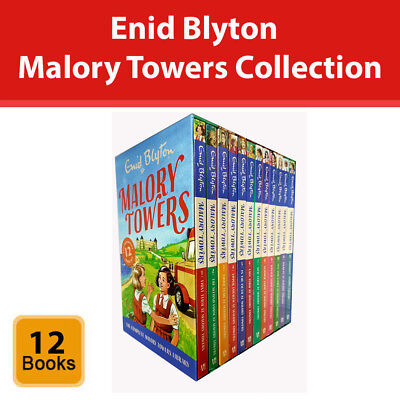 Enid Blyton Malory Towers Complete Collection 12 Books Box Set Children Pack NEW