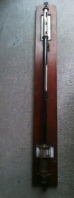 Antique Maritime Stick Barometer ,for Spares Or Repair. Rare opportunity to buy.