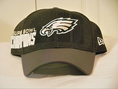 2f32d4fc1558d7 Philadelphia Eagles Super Bowl LII Champion New Era Locker Room Hat Cap