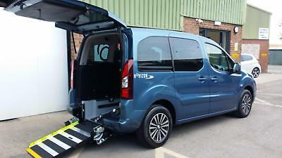 2013 Peugeot Partner Tepee AUTOMATIC Wheelchair Disabled Accessible Vehicle