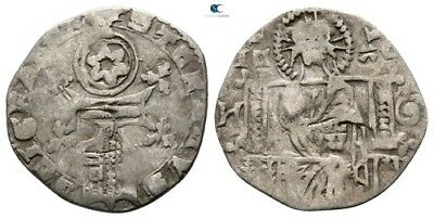 Savoca Coins Medieval Silver Coin Christ 1,18g/16mm $KBP3215