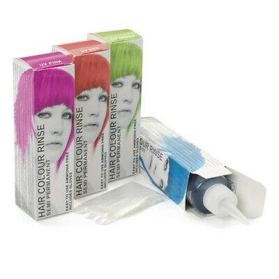 Stargazer Semi Permanent Hair Dye Colour Rinse 70ml - 1 2 & 4 Packs Available