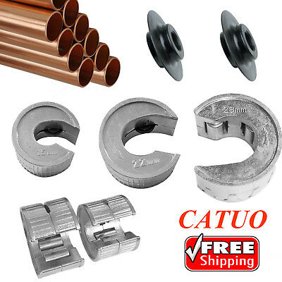 15 22 28mm Pipe Slice Tube Cutter + Rotary Blades Pipeslice Copper Pipes