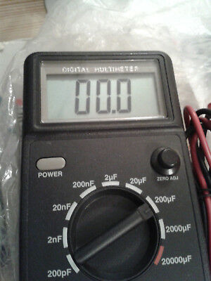 Capacitor digital test meter 3230 Digital Instrument