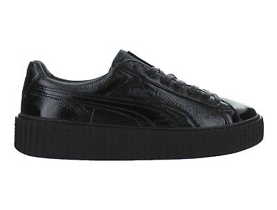 premium selection df24c 58aac Mens Puma x Fenty By Rihanna Creeper Cracked Leather Puma Black 364641-01