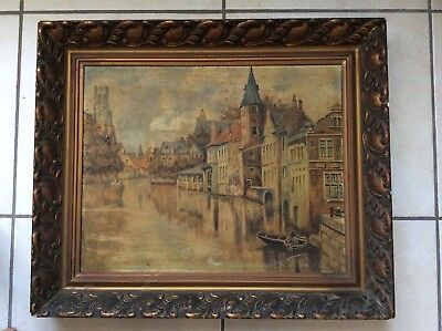 W.bruyninckx-Huile Sur Toile (1936)-Bruges