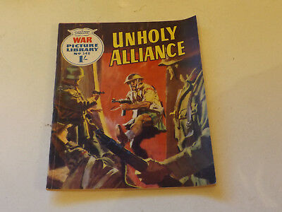 WAR PICTURE LIBRARY NO 348!,dated 1966!,GOOD for age,great 52!YEAR OLD issue.