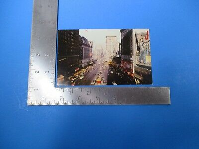 Vintage Broadway Times Square Theatre District New York City Post Card PC55
