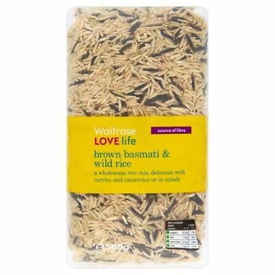 Waitrose Love Life Wholesome Brown Basmati & Wild Rice 500g