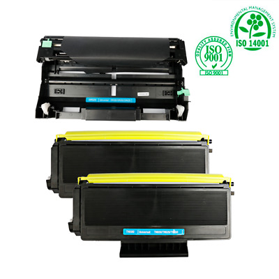 3pk TN650 Black Toner 1pk DR620 Drum Cartridge for Brother MFC 8480 8680 8690