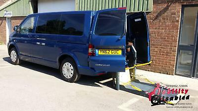 2013 VW Transporter Shuttle Disabled Driver Transfer Wheelchair Access Vehicle