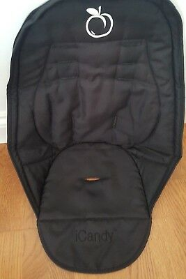 iCandy Peach Black Seat Liner