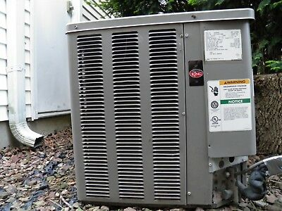 WEATHER KING 3 TON, 10 SEER CONDENSING UNIT 8 (est.) YEARS OLD-WORKS!