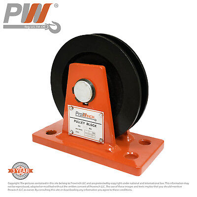 Prowinch 0.5 Ton Pulley dia. 100mm for dia. 8mm rope