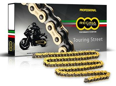 YAMAHA FZS 600 Faser 98-03 REGINA Heavy Duty ( 530VX 110 Type) Gold X-Ring Chain
