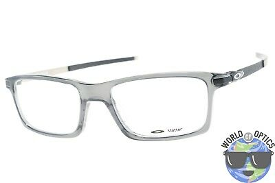 Oakley RX Eyeglasses OX8050-0653 Pitchman Grey Smoke Frame [53-18-140]