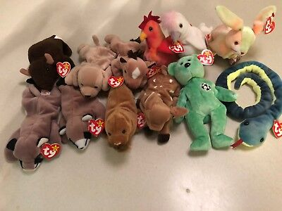f353d7b03f8 Beanie Baby Original TY Mixed Lot of 12 with Tags  6