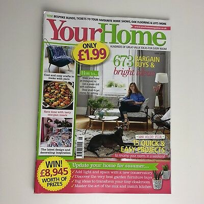 Your Home Magazine May 2018 Revamp your Rooms DIY Decor Interiors
