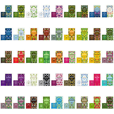 Pukka Herbal Organic Tea Sachets - Choose From 45+ Varieties