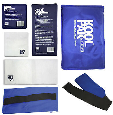 KoolPak Luxury Reusable Hot Cold Ice Gel Pack | All Sizes |Optional Sleeves| ...