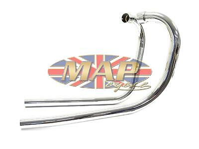 Triumph 650 Push Over Exhaust Header Pipe Set 70-5957/8/P
