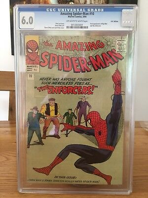 Amazing Spider-Man #  10 CGC 6.0  pence copy Special Weekend Price