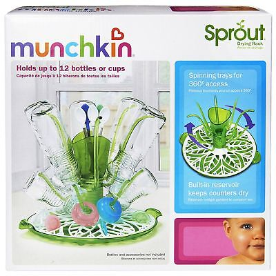 Munchkin Sprout Bottle Utencil Pacifier Accessory Drying Rack