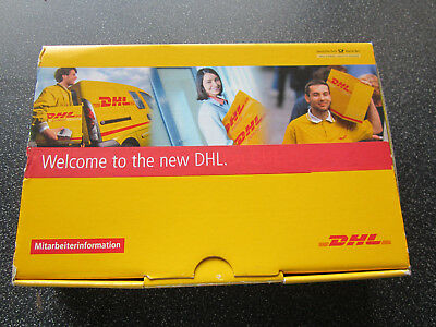DHL employee gift pack with CD Cap model lorry & strap DHL truck