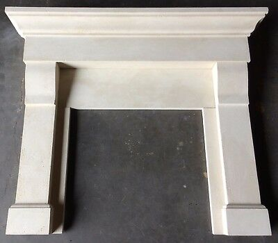 Cast Stone Fireplace Mantle - Stone Mantel CAST - Lighter weight design