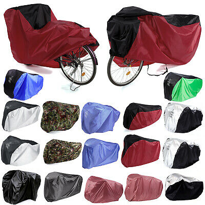 For 1/2/3 Bicycle Bike Cycle Rain Dust Outdoor Cover Waterproof
