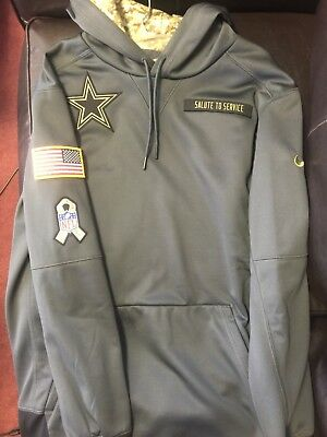 the best attitude f1904 623e5 NIKE DALLAS COWBOYS 2016 NFL Salute to Service Hoodie (M) - BRAND NEW