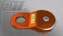 3Yr WTY 17650 lbs / 8 Tons black recovery Winch Pulley Snatch Block off road ...