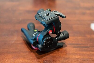 Manfrotto XPRO 3-Way Geared Pan-and-Tilt Tripod Head Great Condition