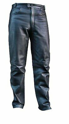 HEAVY Leather Motorcycle Riding Pants All Sizes $250 Value