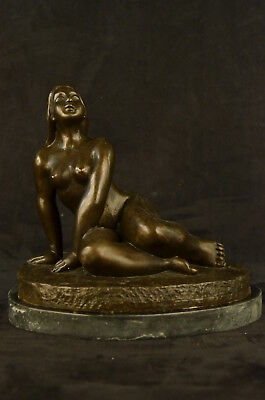 Bronze Sculpture Statue MILO NUDE WOMAN FIGURE ABSTRACT MODERN FIGURINE HQ