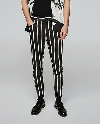4bcd109ac9eb3 Zara Man Special Edition Striped Printed Trousers Pants Ref. 0706/374