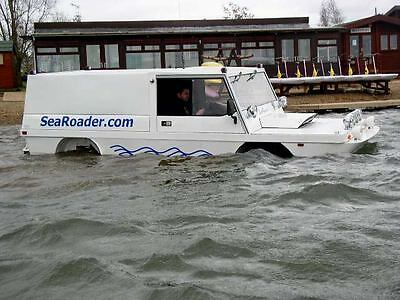 SeaRoader Amphibious vehicle Land Rover Range Rover Amphib Rights/Moulds