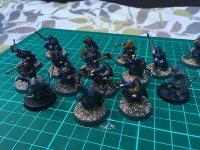 24 X Lord Of The Rings Dwarf Rangers Games Workshop