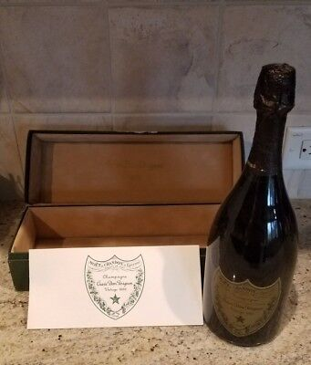 VINTAGE 1985 CUVEE DOM PERIGNON CHAMPAGNE In Original box Unopened bottle