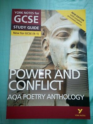 AQA Poetry Anthology - Power and Conflict: York Notes for GCSE (9-1): Second...