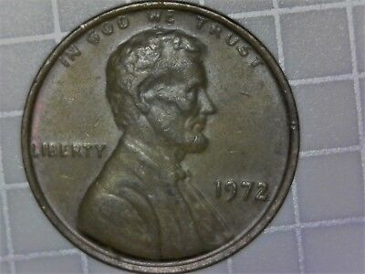 1972 1C Doubled Die Obverse Lincoln Cent