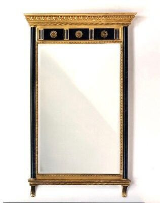 Carvers Guild Neoclassic with Rosettes Wall Mirror