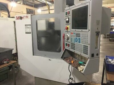 "Used Haas Mini Mill CNC Vertical Machining Center CT40 3.5"" Milling Machine 2001"