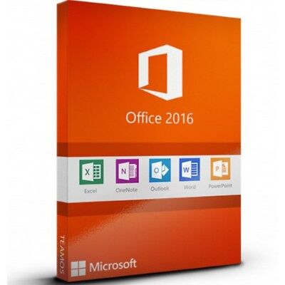 Genuine Ms Office 2016 Pro Plus 32/64-Bit Lifetime Product Key + Download