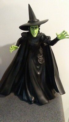 """Rare San Francisco Music Box Wizard of Oz Wicked Witch 17"""" High Talking Statue"""